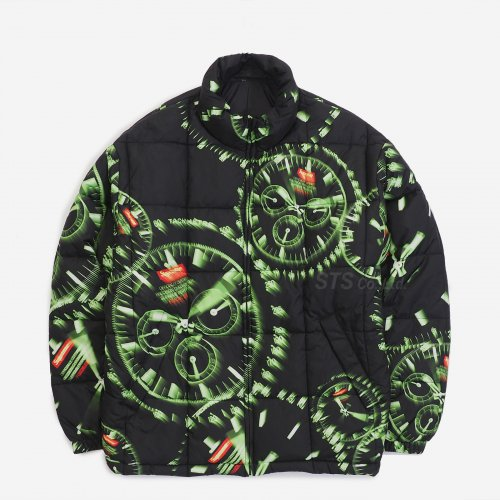 Supreme - Watches Reversible Puffy Jacket