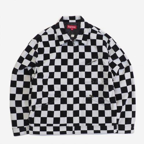 Supreme - Velvet Work Jacket