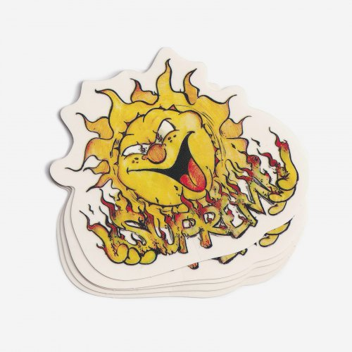 Supreme - Sun Sticker