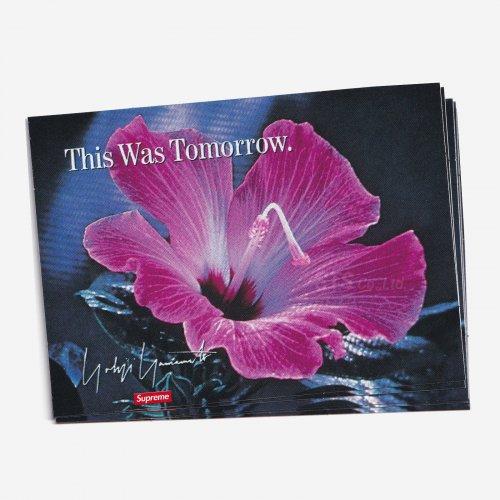 Supreme/Yohji Yamamoto - This Was Tomorrow Sticker