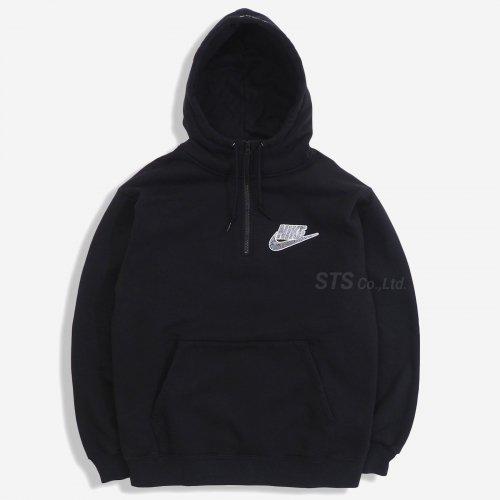 Supreme/Nike Half Zip Hooded Sweatshirt