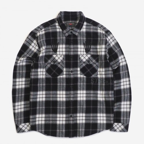 Supreme/Hysteric Glamour Plaid Flannel Shirt