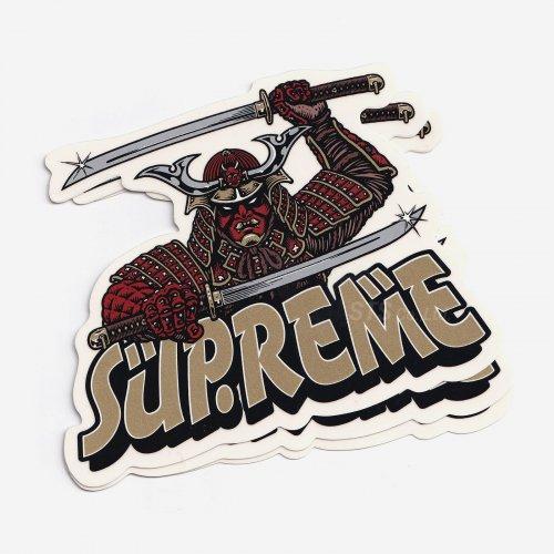 Supreme - Samurai Sticker