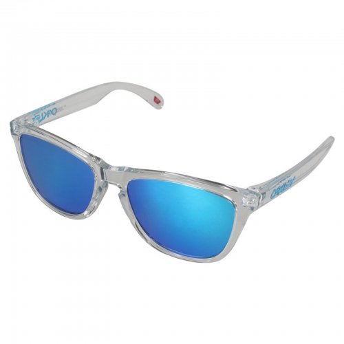 Oakley - Frogskins (A) / Crystal Clear Prizm Sapphire