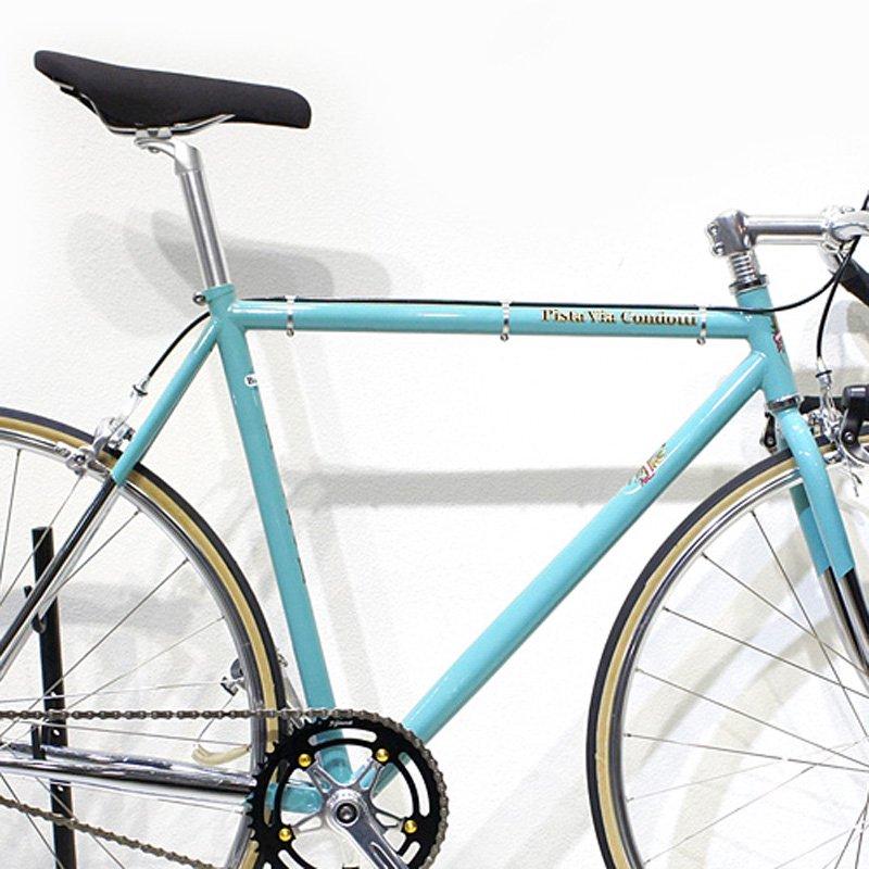 Bianchi - Pista Via Condotti Complete Bike - Overseas Model  (Celeste)