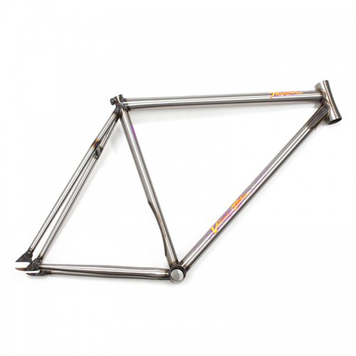 Volume Bikes - Thrasher V.2 Frame (Clear Coat Raw)