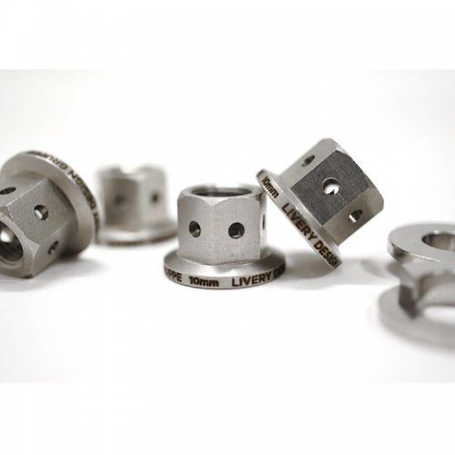 LDG - Classic CNC Stainless Nut Sets