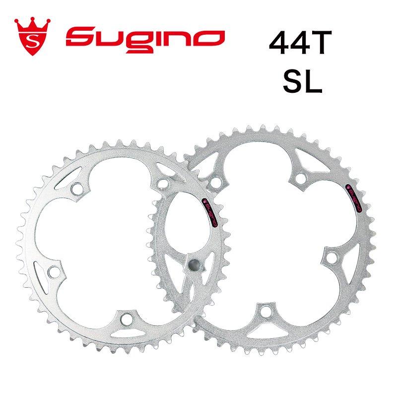 【廃盤】Sugino - 130J Chainring (Silver , 44T)