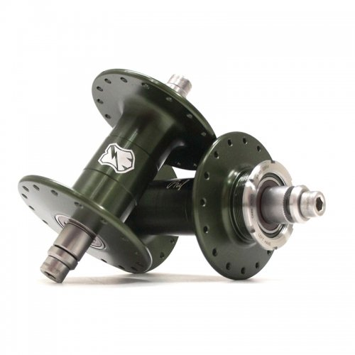 Phil Wood & Co. - MASH Track Hub set (Green)