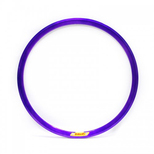 Velocity - Deep V Non-Machined Clincher Rim (Purple) [650c] (N.O.S)