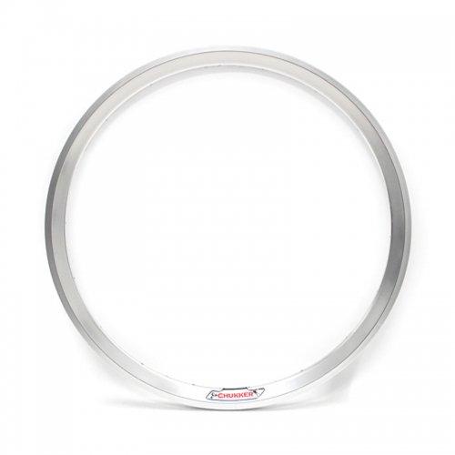 """Velocity - Chukker Non-Machined Clincher Rim (Silver) [26""""]"""