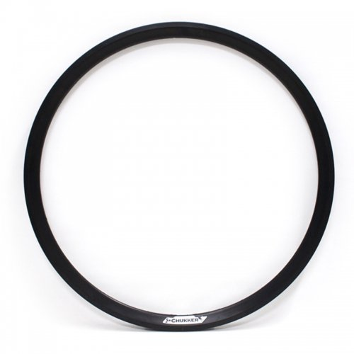 Velocity - Chukker Non-Machined Clincher Rim (Black) [700c]