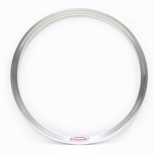 Velocity - Chukker Non-Machined Clincher Rim (Silver) [700c]