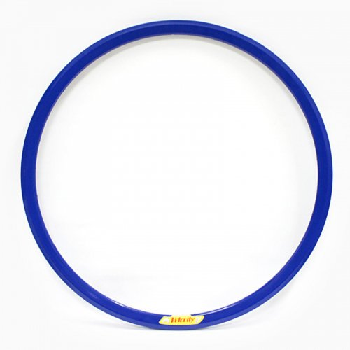 Velocity - Deep V Non-Machined Clincher Rim (Blue) [700c]