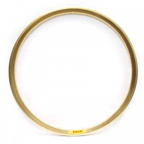 Velocity - Deep V Non-Machined Clincher Rim (Gold) [700c]