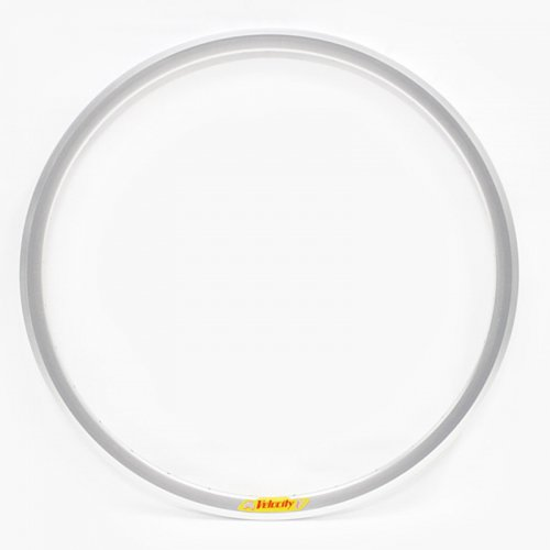 Velocity - Deep V Non-Machined Clincher Rim (Silver) [700c]