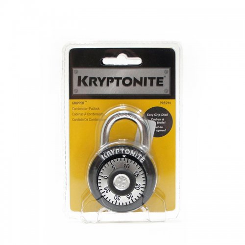 Kryptonite - Gripper 50mm ComboPadlock