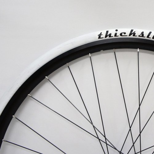 Freedom by WTB - ThickSlick Clincher Tire (White , 700c)