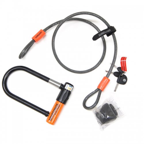 Kryptonite - Evolution Mini-7 w/ 4' Flex Cable