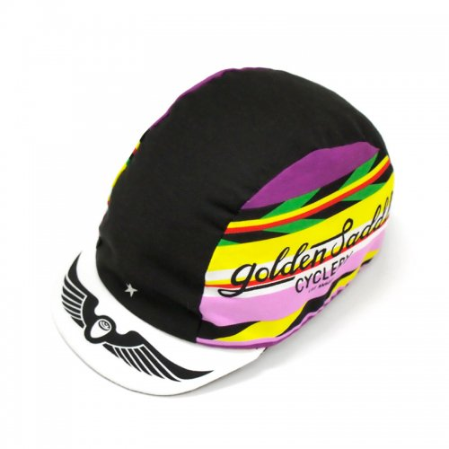 Golden Saddle Cyclery - GSC x Intelligentsia Cycling Cap - Black/Pink