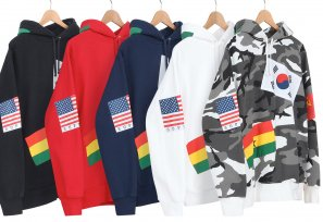 Supreme - Flags Pullover