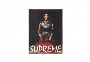 Supreme - Joan Of Arc Sticker