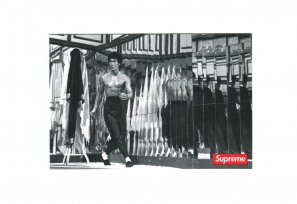 Supreme - Bruce Lee Mirrors Sticker