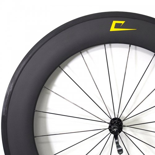 TORAY 88mm Carbon x American Classic x Sapim - PS Custom Wheel (700c,Clincher,Front)