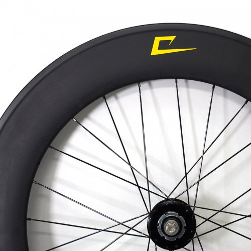 TORAY 88mm Carbon x American Classic x Sapim - PS Custom Wheel (700c,Clincher,Rear)