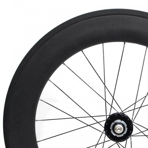 TORAY 88mm Carbon x American Classic x Sapim - PS Custom Wheel (700c,Tubular,Rear)