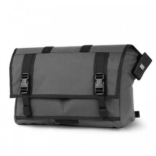 【20%OFF】MISSION WORKSHOP - The Shed Roll Top Messenger Bag / Grey