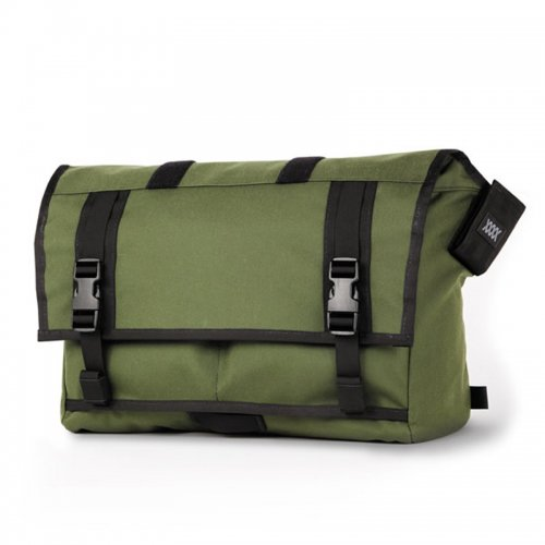 【20%OFF】MISSION WORKSHOP - The Shed Roll Top Messenger Bag / Olive