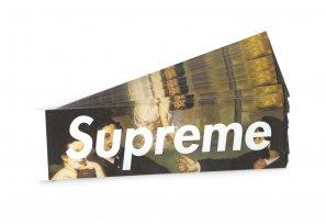 Supreme - Manet Box Logo Sticker