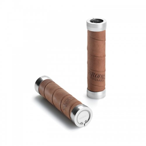 Brooks - Slender Leather Grips