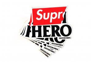 Supreme - Anti Hero Sticker (Large)