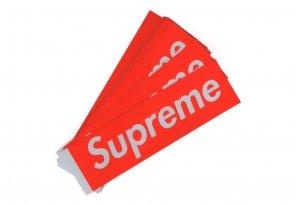 Supreme - Reflective Box Logo Sticker