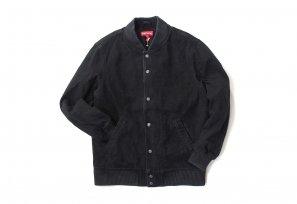 Supreme - Denim Twill Varsity Jacket