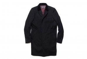 Supreme/Lora Piana - Wool Overcoat