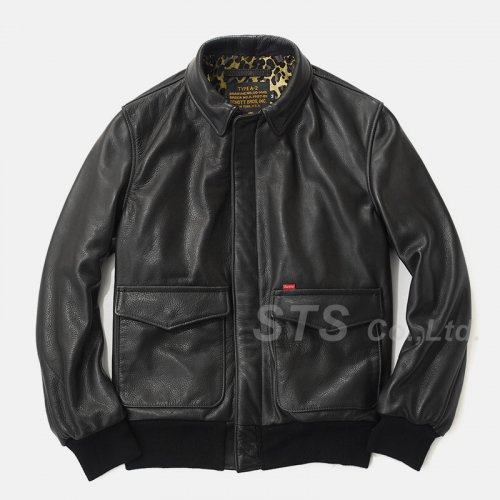 Supreme/Schott Leaather A-2 Jacket