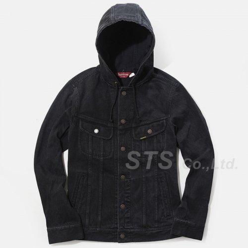 Supreme - Hooded Denim Jacket