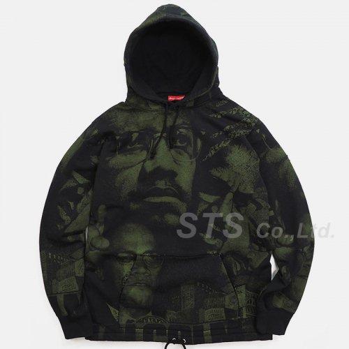 Supreme - Malcolm X Hooded Sweatshirt