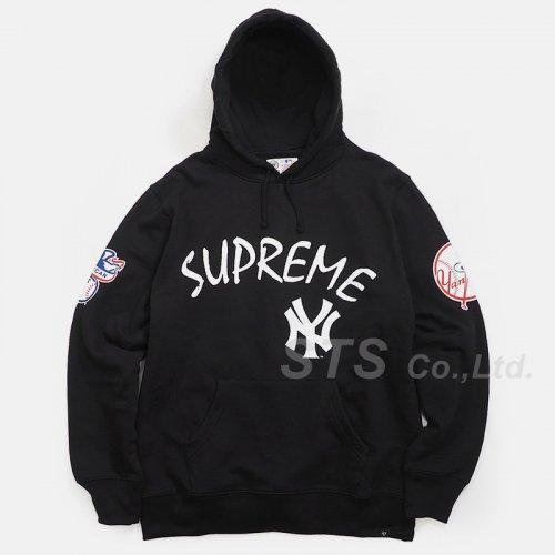 New York Yankees/Supreme/'47 Brand Hooded Sweatshirt