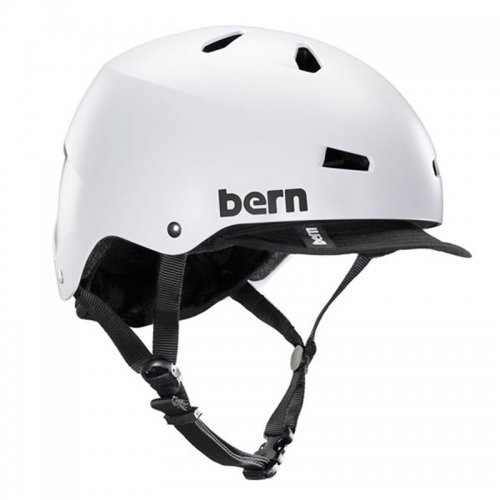 bern - Macon-Visor / Satin White