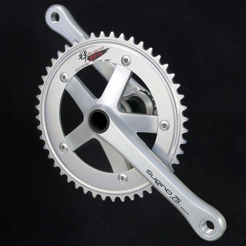 Sugino - 75 DD2 Direct Drive Crankset (Silver , 47-48T)