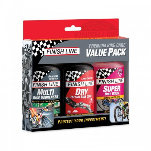FINISH LINE - Premium Bike Care Value Pack