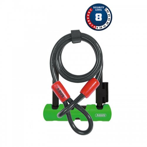 ABUS - Ultra Mini 410SH +Cobra U-Locks (150mm)