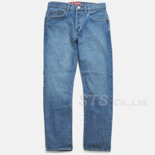 Supreme - Stone Washed Slim Jean