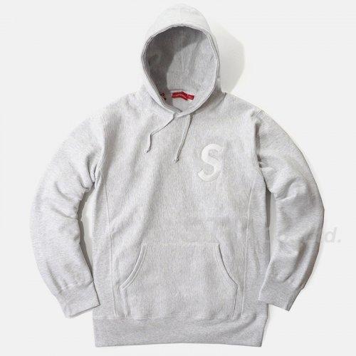 Supreme - S Logo Hooded Sweat Shirt