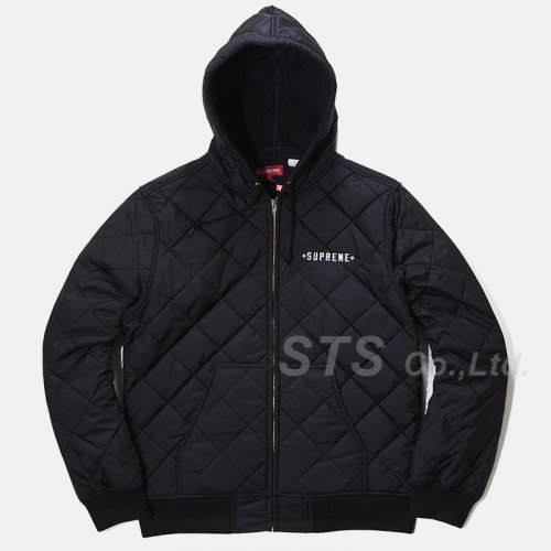 Supreme/Independent Quilted Nylon Jacket