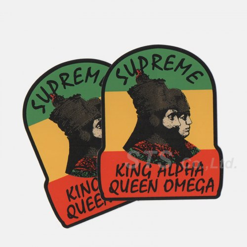 Supreme - King Alpha Sticker